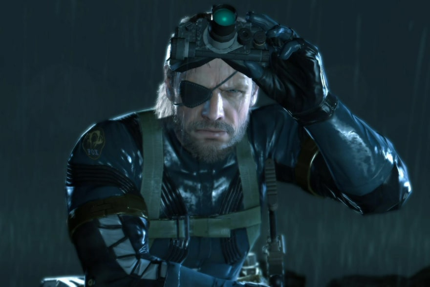 A joke about Solid Snake's eye goes here