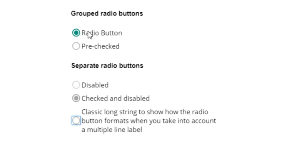 Accessibility first: radio buttons - DEV Community 👩 💻👨 💻