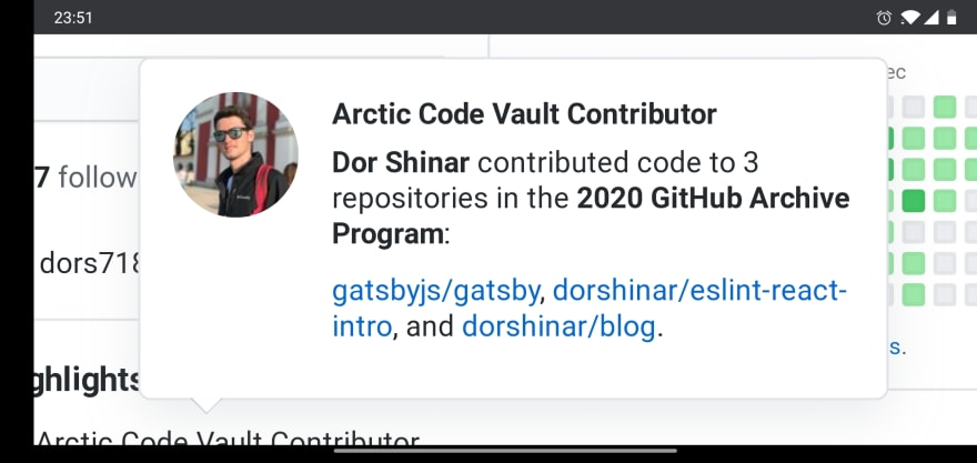 Contributing to the Arctic Vault