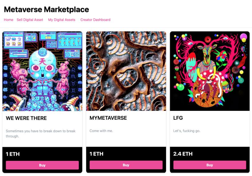 Metaverse Marketplace