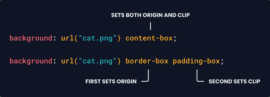 Origin & Clip Example