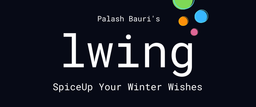 Cover image for Lwing : Send Stylish Messages on Whatsapp, Messenger and More