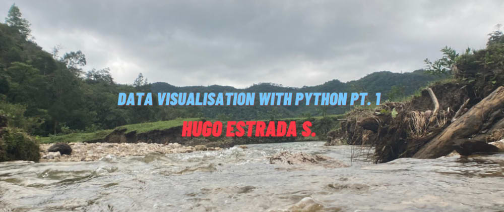 Cover image for Data Visualization with Python pt. i