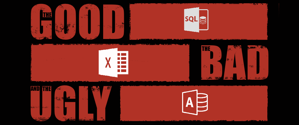 Cover image for The Good, The Bad, The Ugly: Microsoft's three significant impacts on the world of Data.