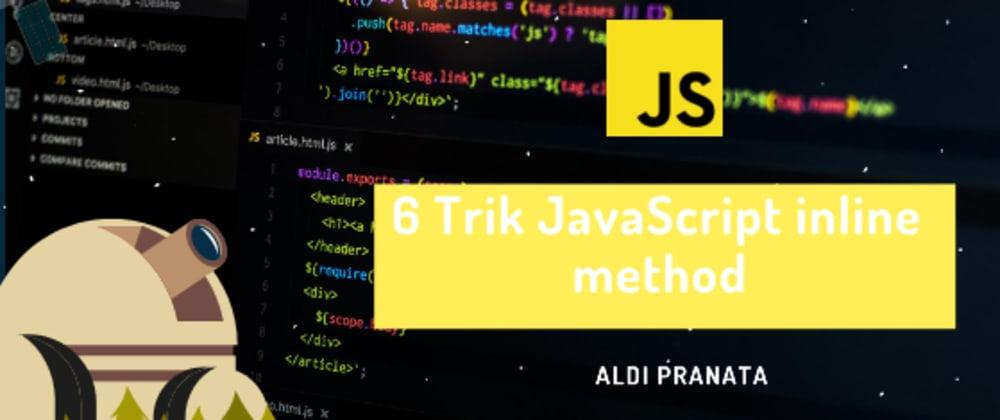 Cover image for 5 Trik Javascript yang paling berguna