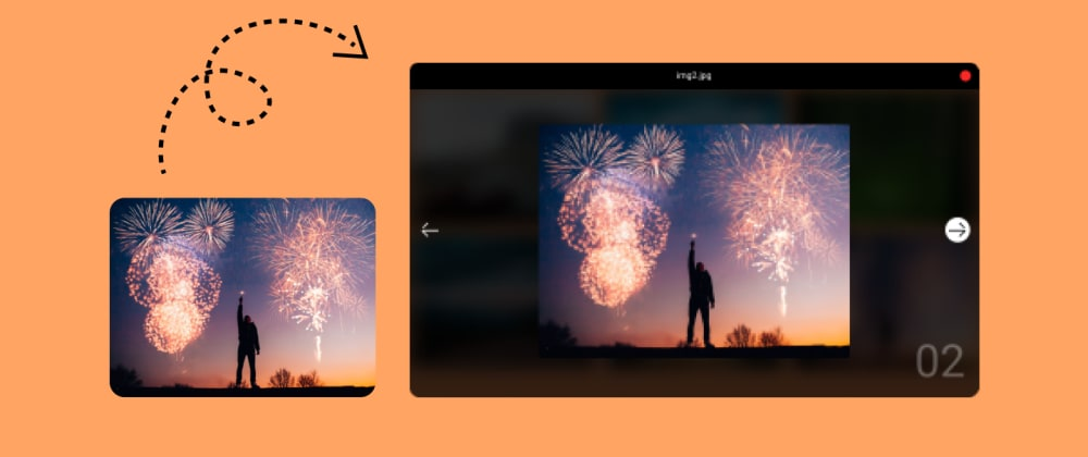 Cover image for How to make this awesome image popup effect