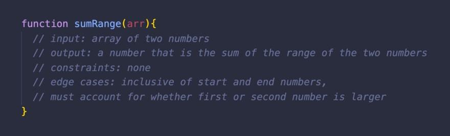 pseudocoding example step 1