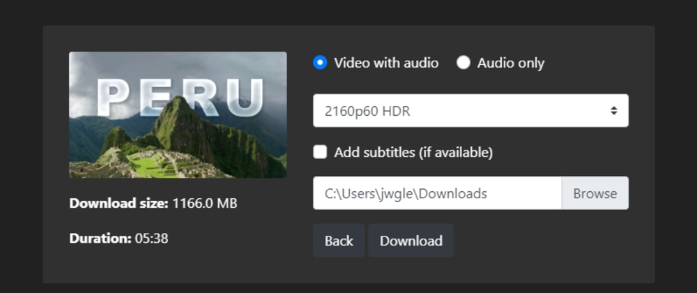 Cover image for Youtube-dl-gui
