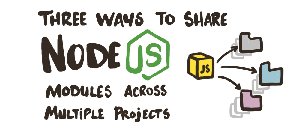 Cover image for Three Ways to Share Node.js Modules Across Multiple Projects