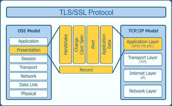 TLS Protocol in Network Model