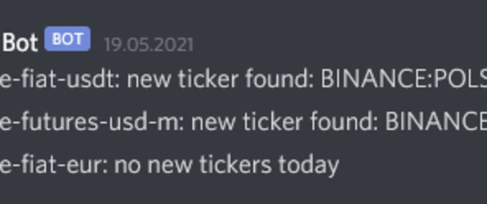 Cover image for Send Exchange Updates to Discord