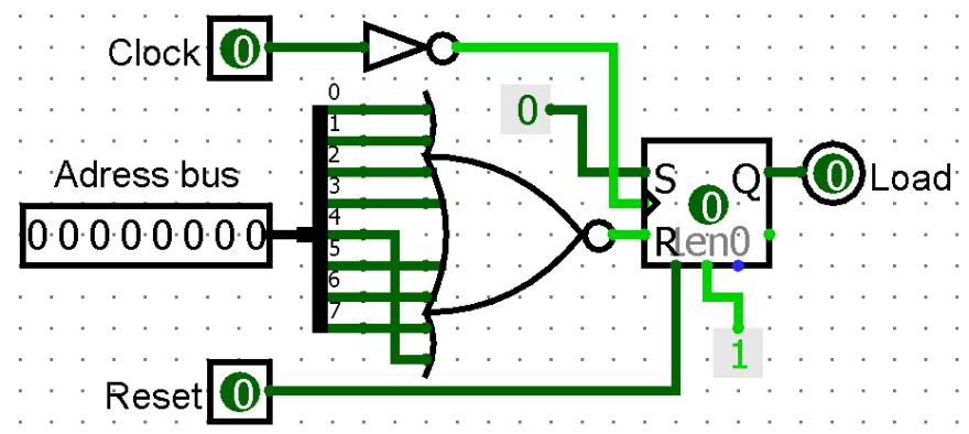 Load signal generator diagram