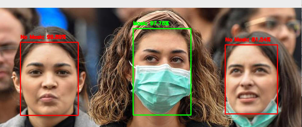Cover image for [Face Mask Detection - My major project]