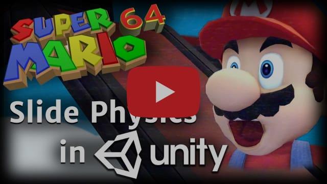 I Made Super Mario 64 Slides in Unity!!