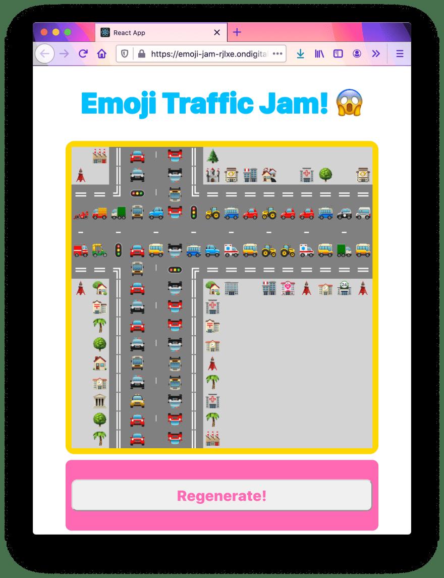 Emoji traffic jam generator 1