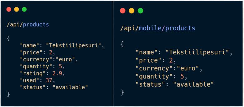 ReSt Web vs Mobile