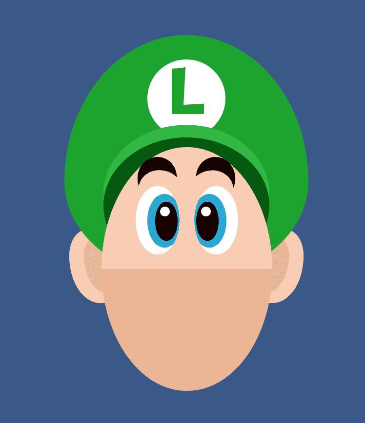 Luigi's Eyes CSS