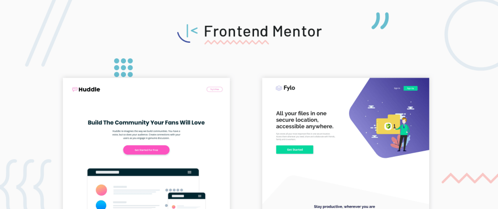 Cover image for Introducing Frontend Mentor - Supercharge your front-end skills by building real projects