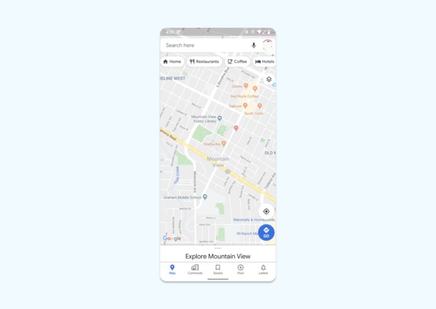 Tracking Location in Flutter App