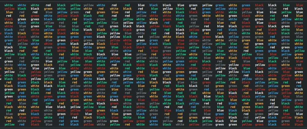 Cover image for Experiencing The Stroop Effect With a Ruby CLI