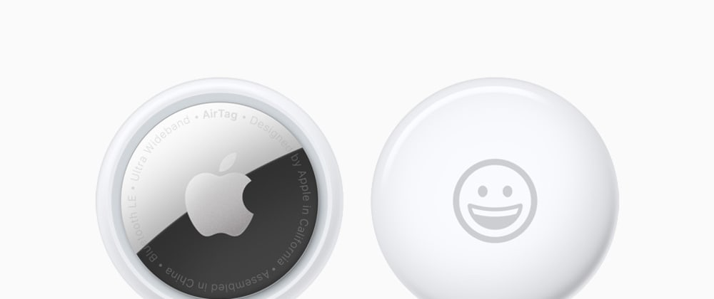 Cover image for Apple AirTag announced
