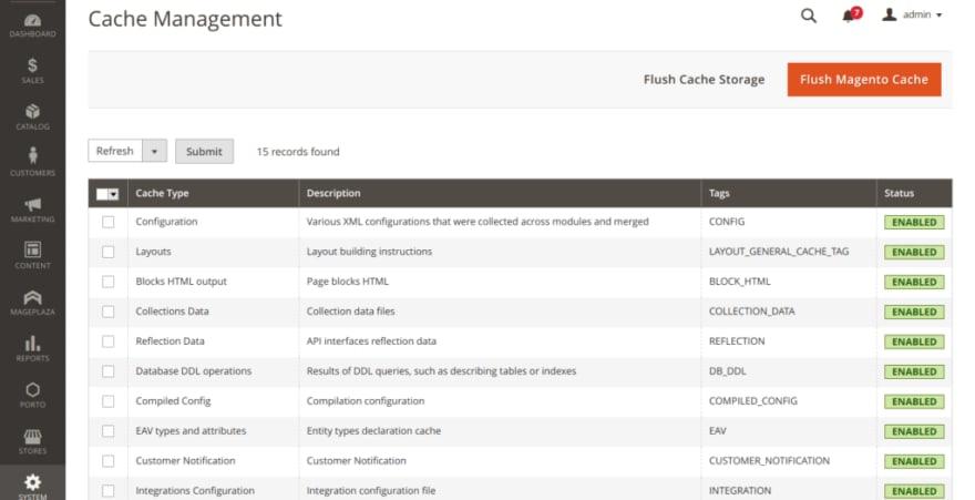 cache Management