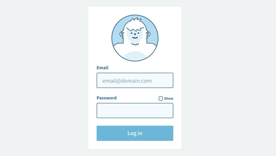 Darin Senneff's login form