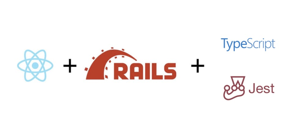 Cover image for How to create an UI app using latest Rails + React + Typescript + Jest - June, 2020.