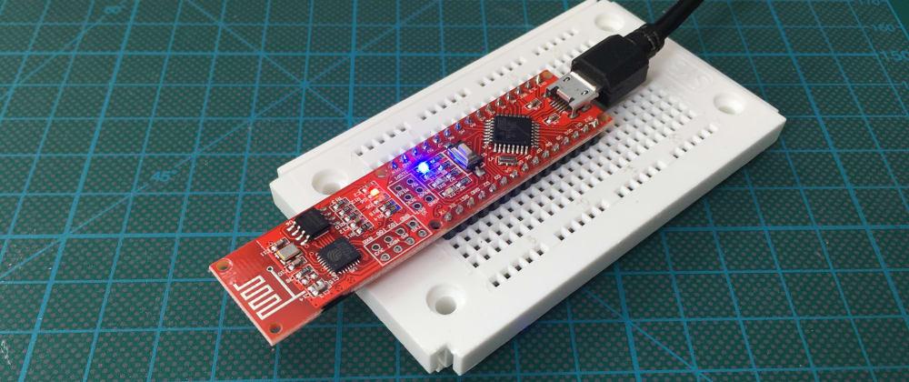 Cover image for A Webserver running on Arduino Nano ESP Sensor