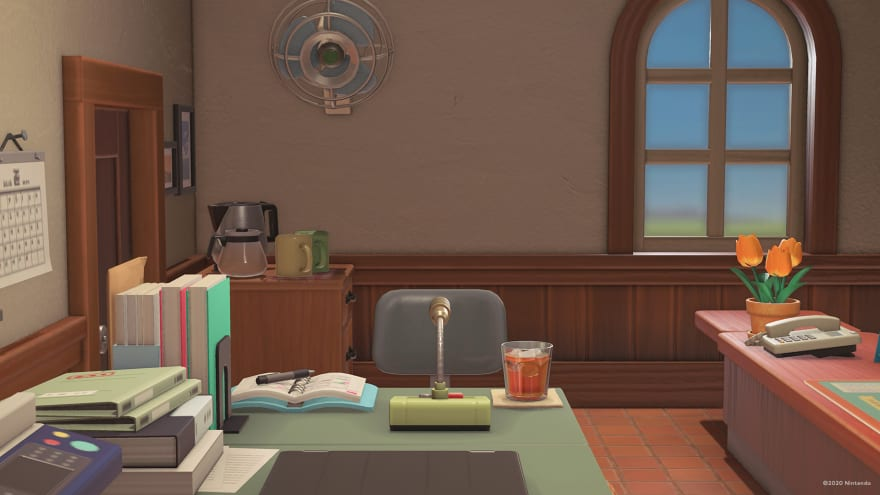 Isabelle's office