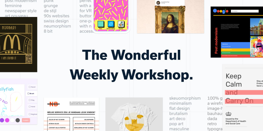 Cover Image for the Wonderful Weekly Worksho