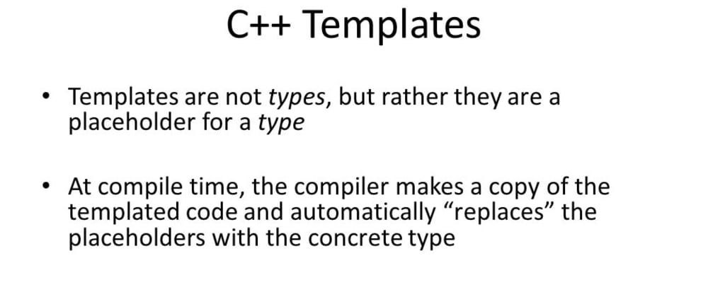 Cover image for C++ Templates