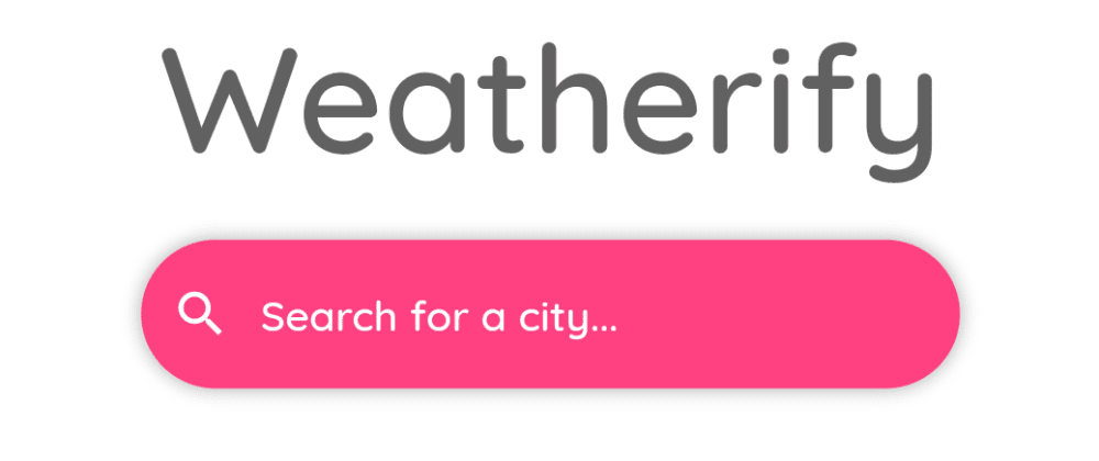 Cover image for Weatherify: A Simple Weather App using Flutter.