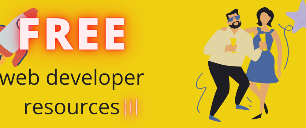 Cover image for 5 free resources to kick-start your career as a web developer!