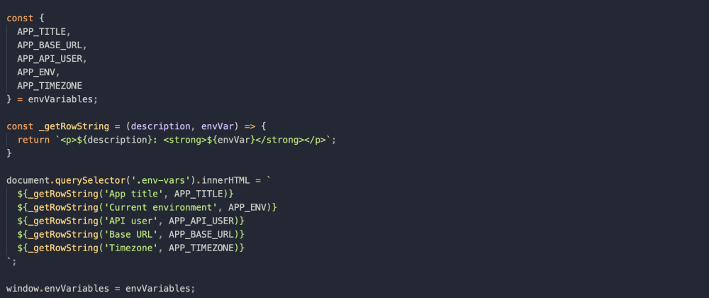 Cover image for How to use .env file in JavaScript applications with webpack