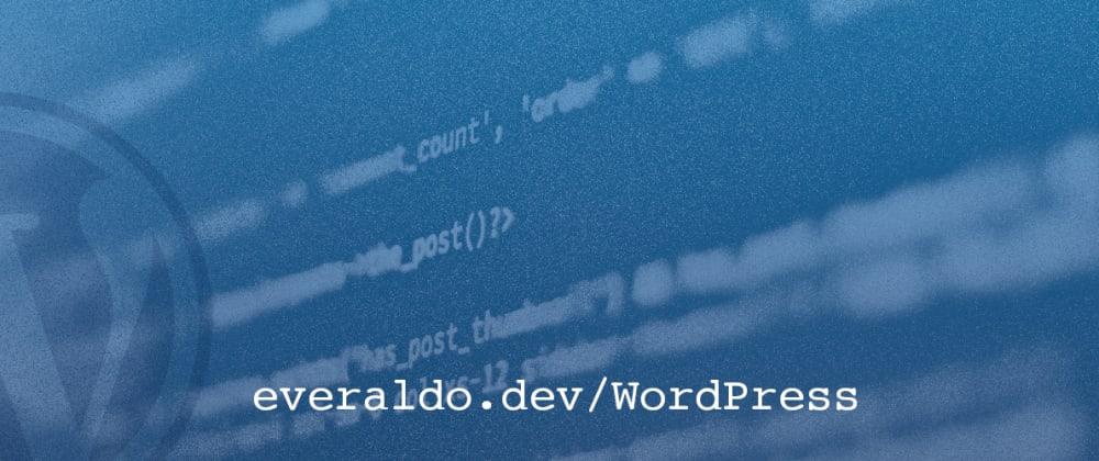 Cover image for Como modificar uma taxonomia registrada no WordPress