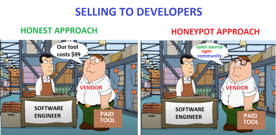 Selling to developers