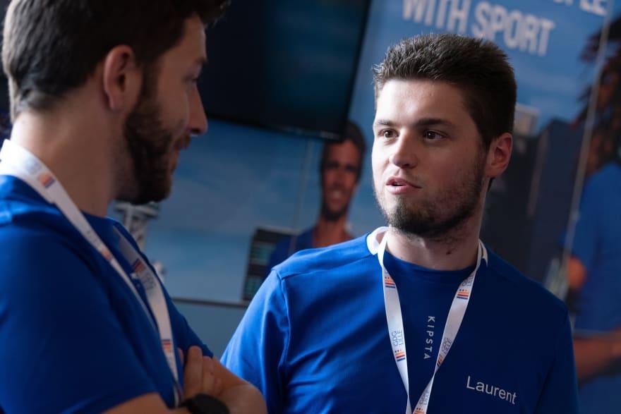 Julien Lind (my manager) & me