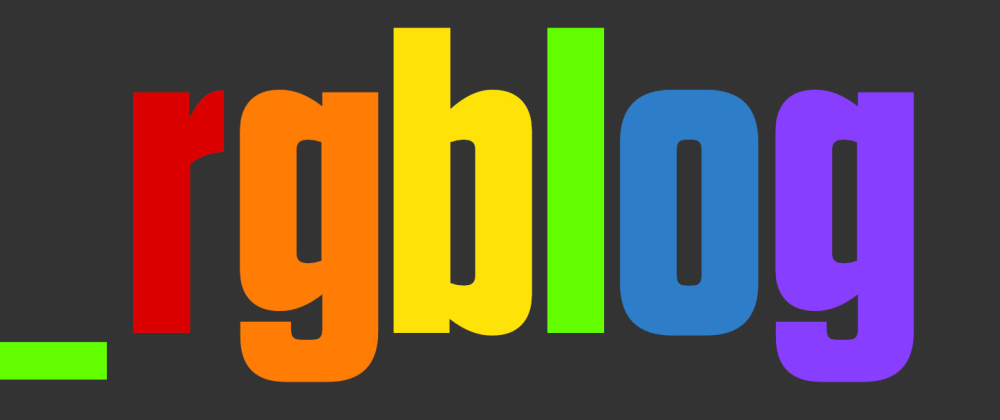 Cover image for Go formatting with rgblog