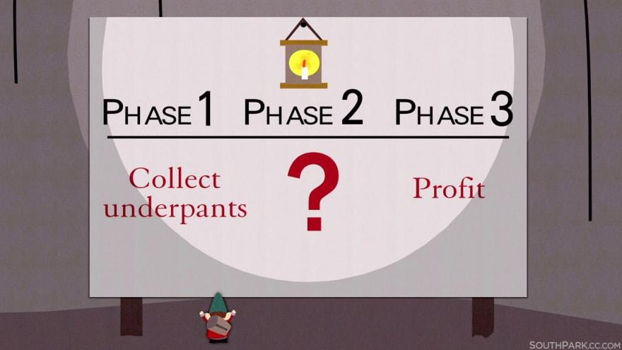 South Park Profit Gnomes