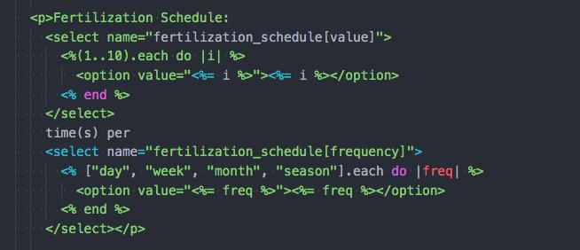 refactored code