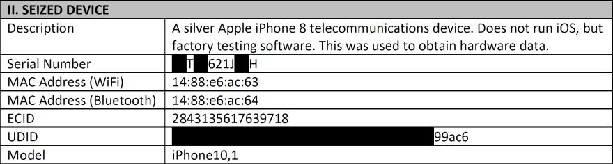 phone data