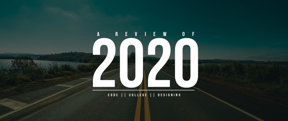 Cover image for A review of 2020