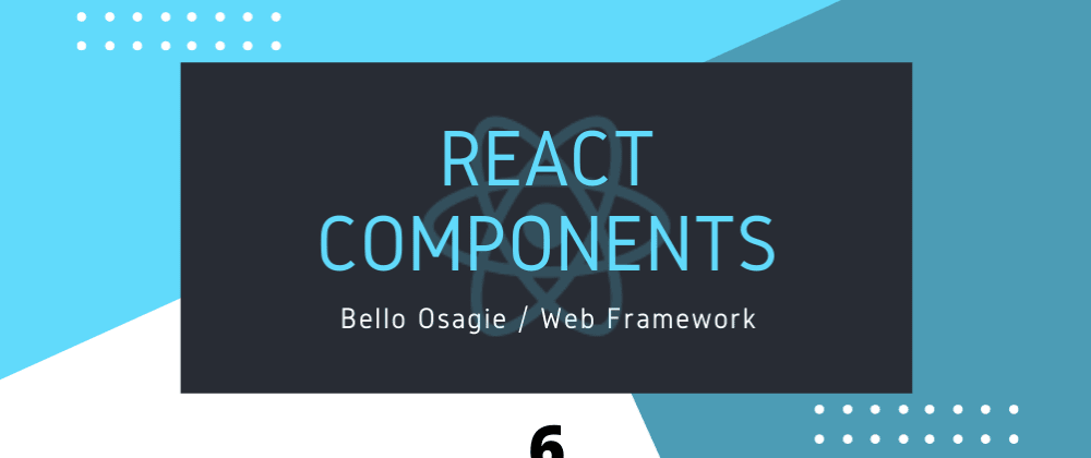 Cover image for React Components