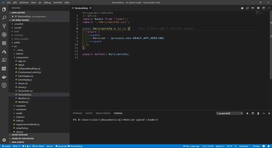 IDE Using OpenDyslexic Font