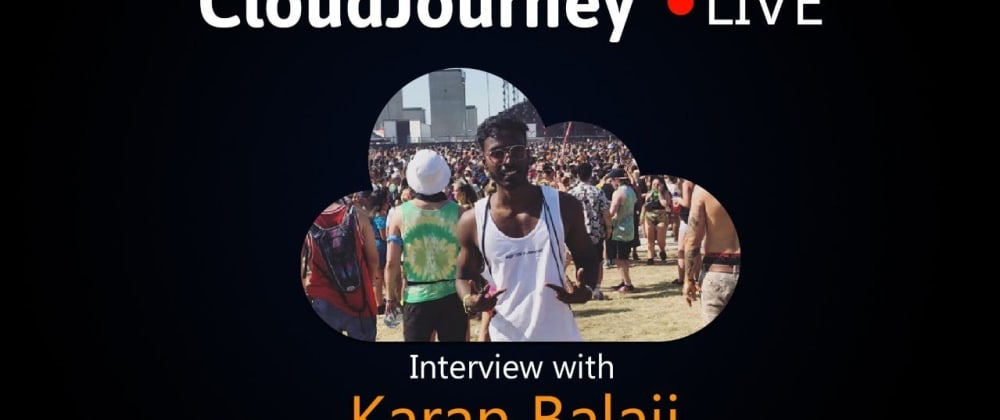 Cover image for CloudJourney - Want to be on my live-stream?