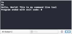 How to make a command line tool in Xcode - DEV Community