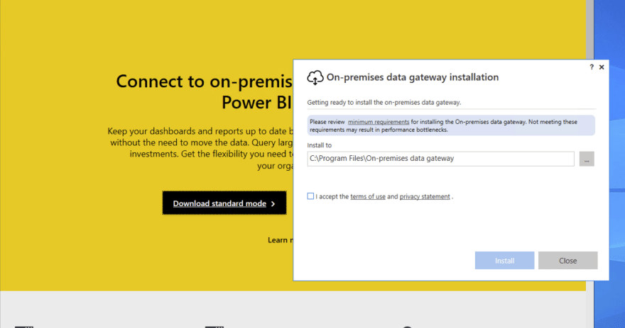 Gateway Install