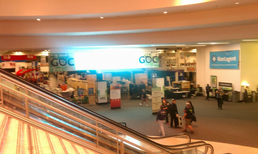 The Final Hours of GDC 2012 as People were heading home