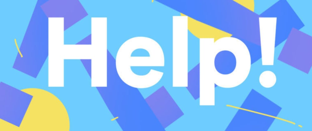 Cover image for Help me improve the homepage